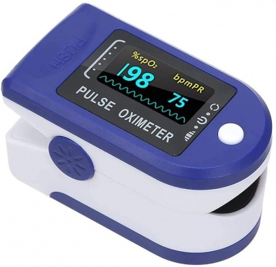 Pulse Oximeter Monitor with Vaporizer | Pulse Oximeter || Vaporizer | Oximeter | Oximeter Pulse Fingertip | Heart Rate Monitor | Oxygen Level Monitor Combo
